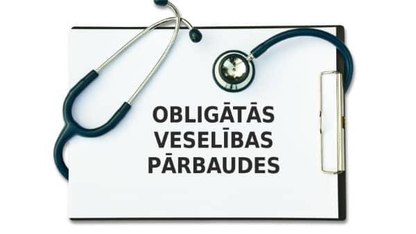 Obligātās veselības pārbaudes pakalpojums.